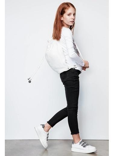 Patrizia Pepe Kız Çocuk Beyaz Çanta Beyaz